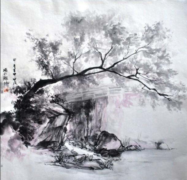 孙珑珈崂山写生作品